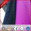 Cuir en cuir synthétique respectueux de l'environnement de sofa de qualité de PVC
