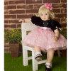младенец силикона винила 60cm заново родившийся - игрушка дома игры время ложиться спать игрушки куклы