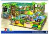 Glückliche Karikatur-Innenspielplatz-Gerät