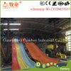 Diapositiva del arco iris de la fibra de vidrio del equipo del parque del Aqua para la venta