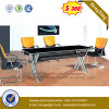 標準的な事務机の割引かれた黒い会議の席(NS-GD056)