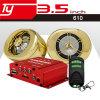 Statischer AbleiterFM Zusatzrca-Funktion Motorrad-diebstahlsichere Sicherheitssystem-Stützkopfhörer USB-MP3