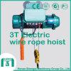Grua elétrica de levantamento geralmente usada da corda de fio da maquinaria
