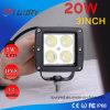 nicht für den Straßenverkehr 4WD LED Arbeits-Licht des 20W 3inch CREE Punkt-