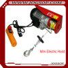 Élévateur 100kg de moteur électrique de câble métallique mini avec le chariot à monorail