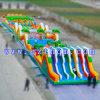 Combos gonflables d'amusement de jeu obstacle gonflable géant gonflable de stationnement de grand long pour la Chambre de jeu de jeu fun de gosses et d'adultes