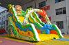Ruhige Tiere schieben aufblasbares Plättchen für Kind-Spiel (Chsl640)