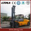 Nueva carretilla elevadora grande de Ltma carretilla elevadora diesel de 12 toneladas