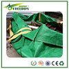 Validar el contenedor de la basura del bolso del verde de la orden de encargo