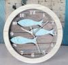 Horloges murales en bois de poisson
