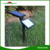 Luz psta solar ao ar livre do ponto da paisagem da lâmpada de rua do jardim do projector da parede de 48 diodos emissores de luz da lâmpada solar do gramado do diodo emissor de luz