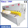 Máquina hidráulica del péndulo Shearing para la exportación a Bangladesh