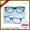 2015 grand Frame Optical Glasses avec le Cp Material (OP15001)