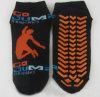 No el resbalón pega calcetines de los deportes del trampolín de los calcetines de la yoga