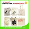 Kundenspezifische Drucken-Firmenzeichen-Baumwollformtote-Beutel 100% für das Einkaufen