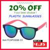 De promotie In het groot Plastic Zonnebril 2016 van het Frame van PC van de Manier