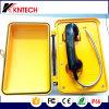 El teléfono de dial auto a prueba de mal tiempo del teléfono Knsp-03 toma llamada
