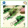 Горячим подгонянный надувательством водоустойчивый стикер PVC ясности (JP-s006)