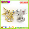 2016 Form Star Brooch/Gold Plated Angel Brooch mit Butterfly Clutch #5931