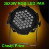 Luz barata del club del alto brillo 36X3w RGB para la venta