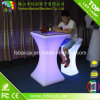 Chair를 가진 바 Furniture LED Cocktail Table