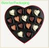 Het Vakje van het Document van de Vorm van het hart voor Suikergoed/Chocolate/Sweet