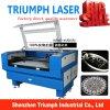 Máquina de estaca da gravura do laser de China para a folha acrílica Triumphlaser