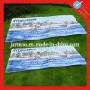 Drapeau protégeant du vent bon marché de maille de PVC de coutume