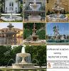 Grande fontaine d'eau de granit de décoration de Spuare