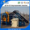 Machine de fabrication de brique Qt10-15 utilisée concrète automatique à vendre