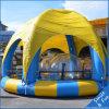 Piscina el 10*5*0.5m inflable para los cabritos, barco de paleta, barcos de parachoques