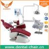 Zahnmedizinischer Stuhl mit Multifunktionspedal/doppeltem Armrest/CE, ISO bescheinigt
