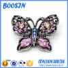 De in het groot Broche van de Vorm van de Vlinder van het Kristal van het Bergkristal voor Kleding