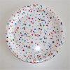 Los artículos decorativos venden al por mayor las placas de papel coloridas