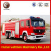 Sinotruk 6X4水Foam Fire Fight Truck