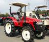 Tractor de cultivo 70HP con los neumáticos del arroz