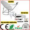 plugue satélite de 5m 3c2V F ao cabo do plugue de F (SY090)