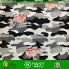 De bloem combineerde Stof van de Chiffon van de Camouflage de Polyester Afgedrukte