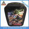 La corsa dei capretti mette in mostra il grande sacco dei bagagli della valigia del carrello esterno di corsa