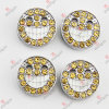 8mm Jewelry Smily Face Slide Charms (JP08-507)
