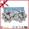 Самый лучший смычок звезды тесемки серебра качества для вспомогательного оборудования партии