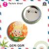Divisa del botón del Pin del hierro del regalo de la promoción de la buena calidad