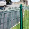 il PVC di vendita 2016hot ha ricoperto il recinto di filo metallico saldato galvanizzato