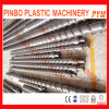 Single bimetallico Screw e Barrel per Extruder
