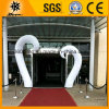 De Witte Opblaasbare LEIDENE van de douane Lichte Buizen van de Ingang (BMLB95)