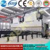 2-We67y (K) máquina de dobra hidráulica ordinária da placa 2-Double de -1600/6000 (CNC), freio da imprensa