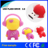 Movimentação encantadora do flash do USB do robô da música