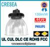 La lámpara industrial IP65 de la iluminación del UFO Highbay impermeabiliza la alta luz de la bahía de 130lm/W 200W 150W 100W LED