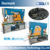 Diw-120t multi Zweck-hydraulischer allgemeinhinhüttenarbeiter für Metalldie lochende Ausschnitt-verbiegende Einkerbung