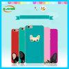 iPhone7를 위한 창조적인 다채로운 개와 고양이 이동 전화 케이스